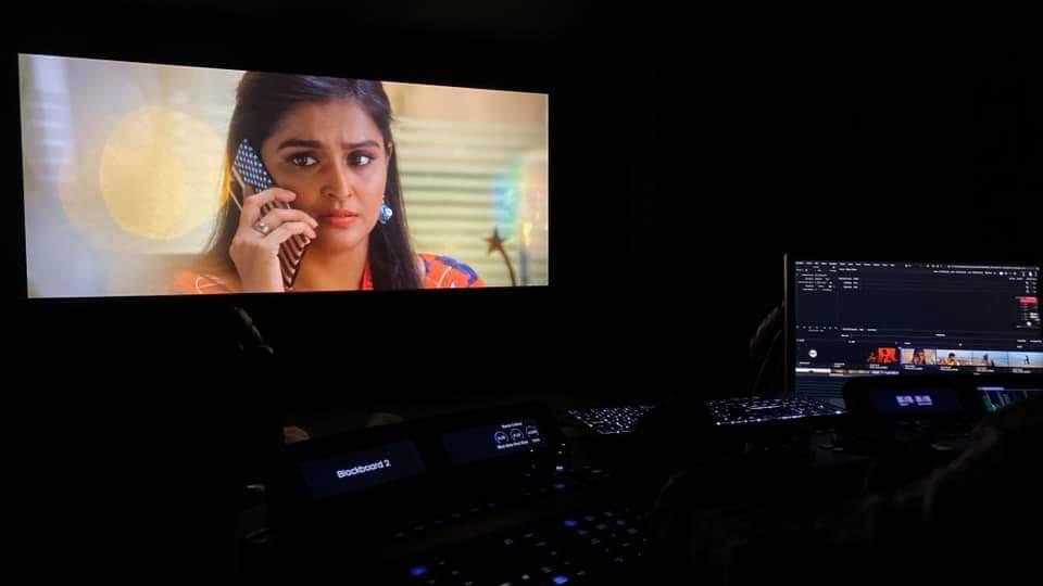 Final stages of post production #planpannipannanum #yuvanbadri3 teaser announcement soon #MarchMadness @thisisysr @rio_raj @nambessan_ramya @positiveprint_ @Rajeshnvc5Kumar @SinthanL @DopRajasekarB @SamRdx6 @DoneChannel1 @gobeatroute @Bala_actor @iamrobosankar @arnamurthyAC