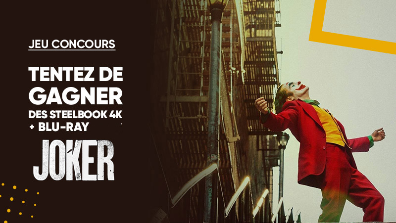 JEU CONCOURS 🍀 | Fans du #JOKER 🤡 À l'occasion de la sortie en DVD du film, tentez de gagner des Steelbook 4K + Blu-Ray et replongez-vous dans l'univers du légendaire Joker. ⚡ ! ➡ Pour participer : RT + Follow @Fnac > Bonne chance à tous ☺ >>