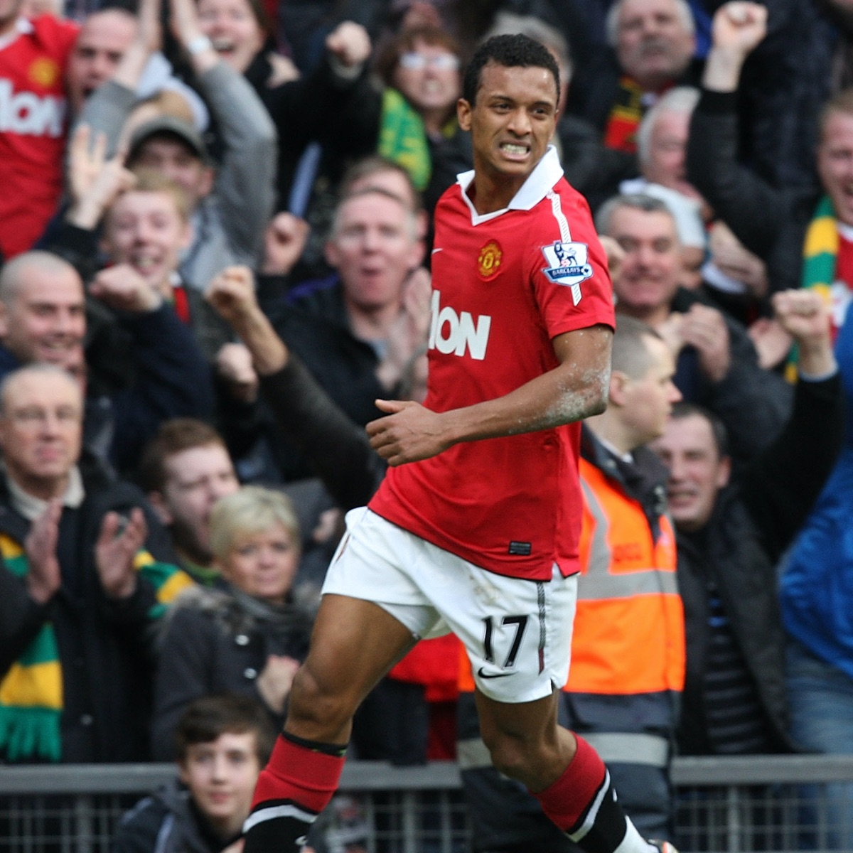 If only this cartwheel merchant was slightly more consistent.  Nani was so technically gifted.