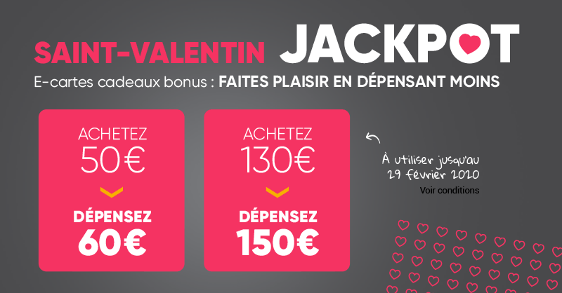 💖 Faites plaisir en dépensant moins avec le Jackpot de la #SaintValentinFnac 😍 👉