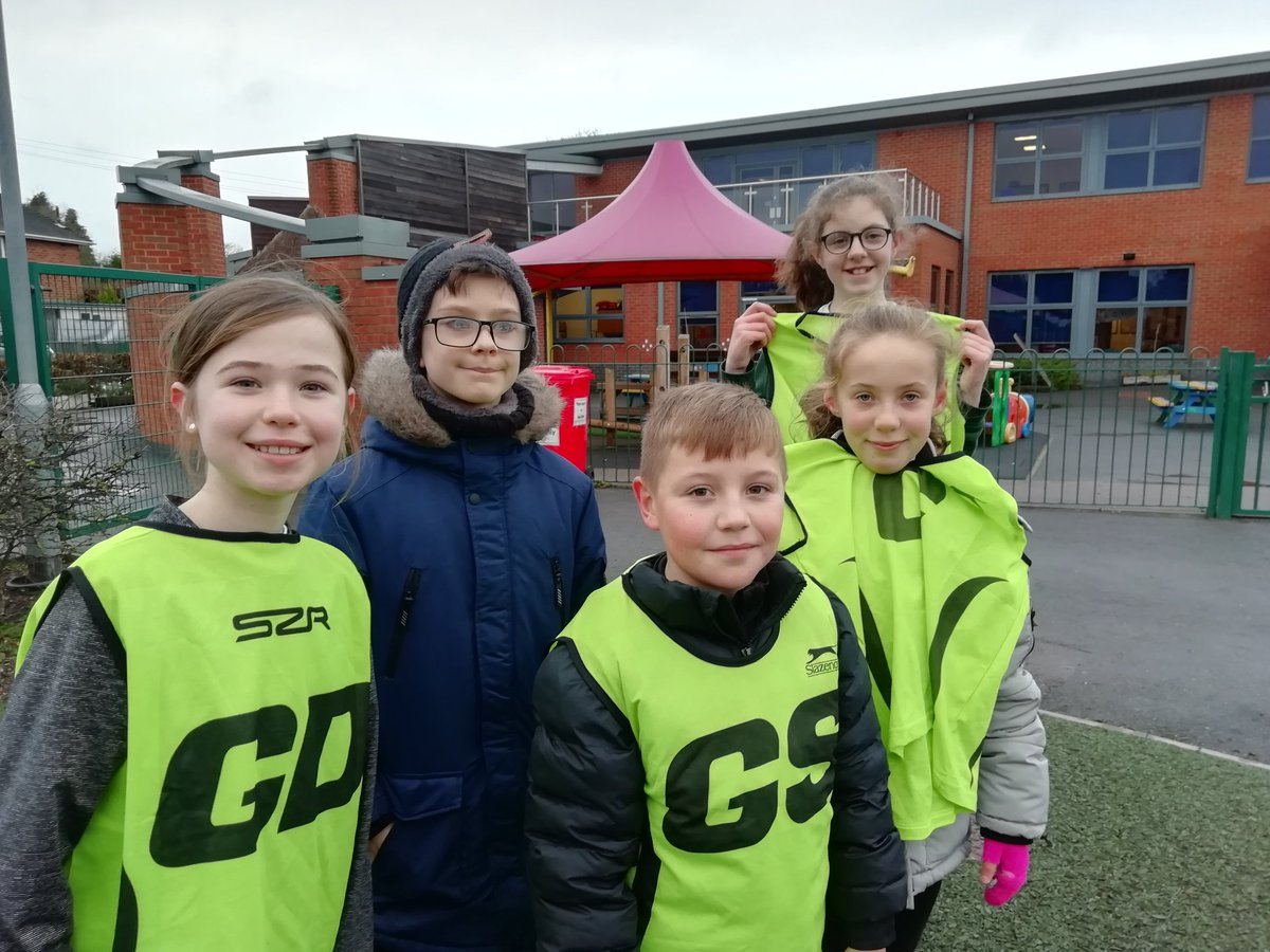 test Twitter Media - Our brave Netballers at Chilcote School on Monday for their match. It was so cold they played in coats. But we're still smiling despite both teams losing. Keep going. https://t.co/G3aUfkfpvv