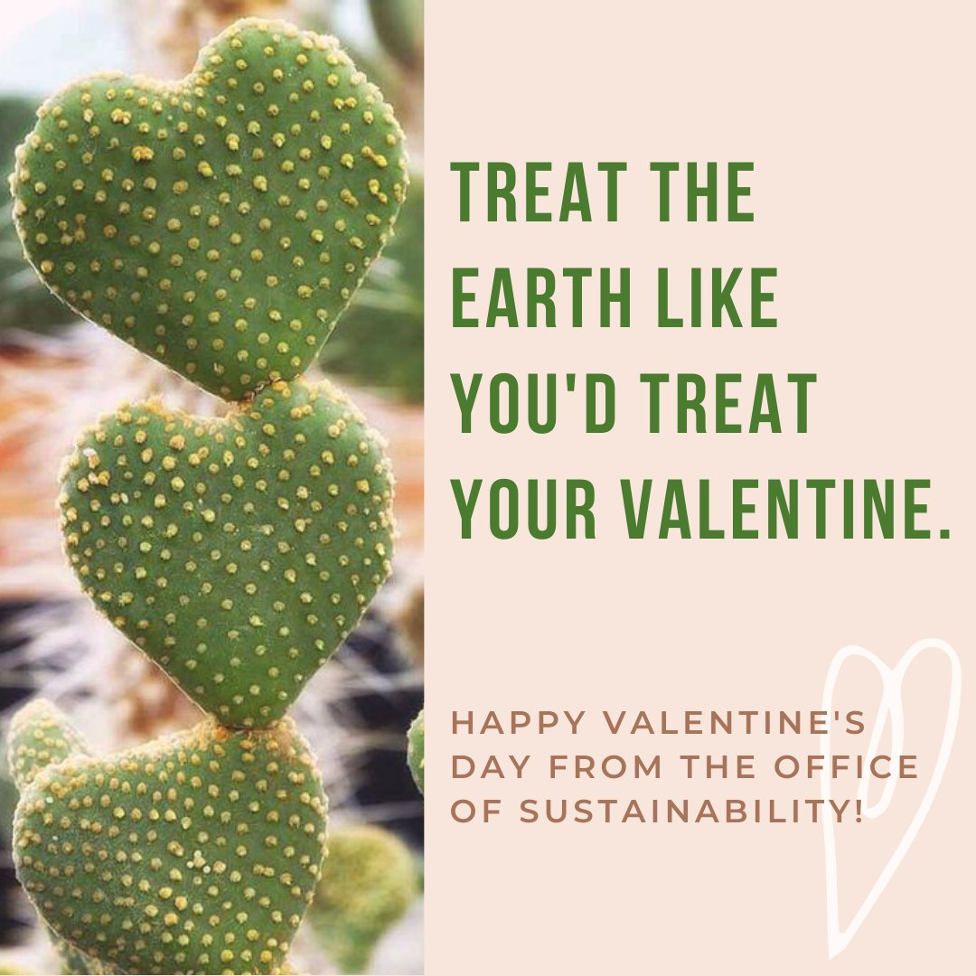 RT @usdsustain: Show the Earth some love this Valentine's Day!💚 https://t.co/Sei4OrNJdD