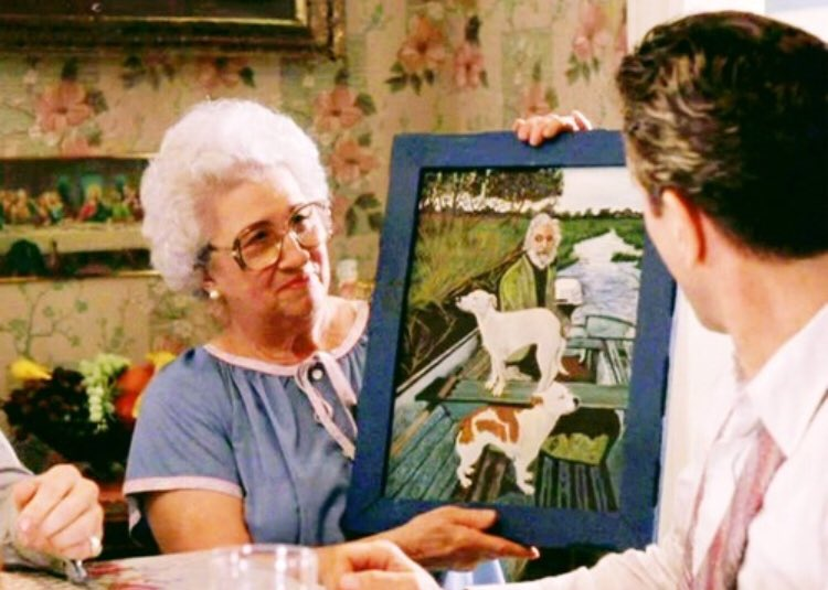 Only today found out that painting in Goodfellas is based off of a real photo of a man who lived along the Shannon river over forty years ago.