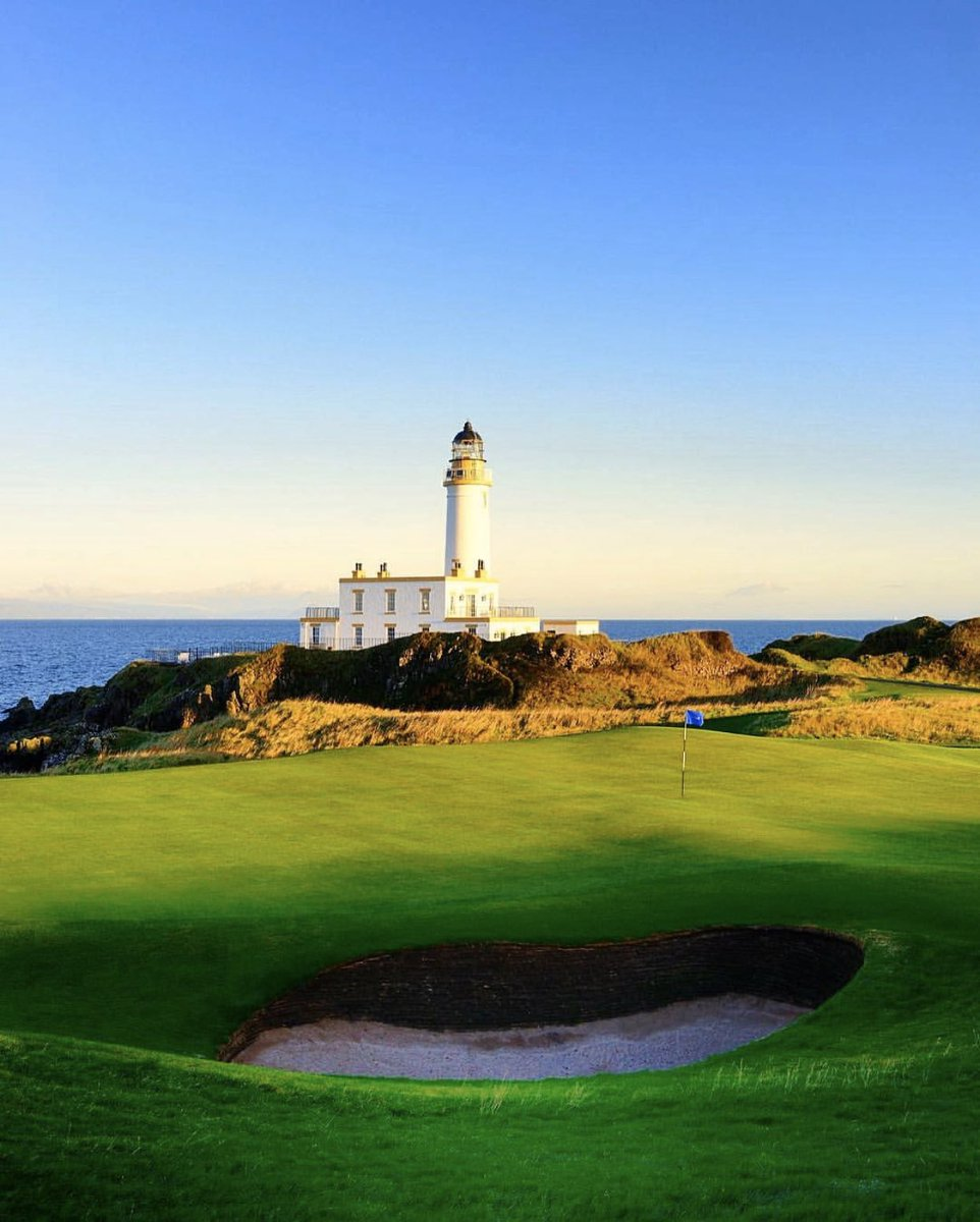 """3/3: All the while, @TrumpTurnberry climbed to #10 on @GolfDigest's """"100 Greatest Golf Courses in the World"""" – with @TrumpScotland, @TrumpDoonbeg Ireland and @TrumpDoral Miami all making the unbelievably exclusive and coveted list!"""