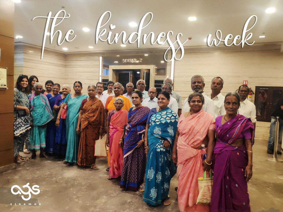 Such a pleasure to host these lovely people for #TheKindnessWeek to celebrate and share in the love of #Valentines in association with #TheKindnessProject !! Looking forward to a bigger bunch this Saturday at #AGSMaduravoyal!