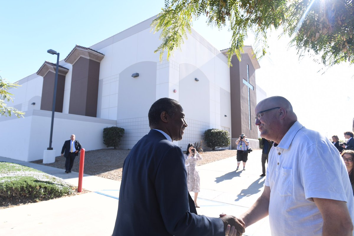 Next stop on the #DrivingAfforableHousing Bus Tour: Riverside, CA ✅ I'm delighted to visit the Grove Community Church for a discussion about the role the faith community can play in answering the call for more affordable housing.