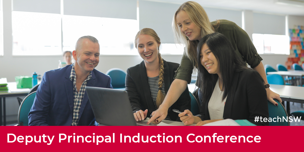 Are you a newly-appointed, first-time or long-term relieving deputy principal in a NSW public school? Register to attend the Deputy Principal Induction Conference at: https://t.co/YiW8OJXugH.  #teachNSW #teachandmakeadifference #nswpublicschools https://t.co/8dqsINWVxi