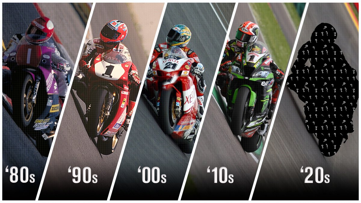 test Twitter Media - 💨History shows the winds of change can come out for new decades…  The 80s had Merkel, the 90s had Foggy, the 2000s had Bayliss and 2010s had Rea: the pattern is clear going into the 2020s, but who is next?  📃 | #WorldSBK https://t.co/zwT1MfxPA8 https://t.co/to6LgA54Cv