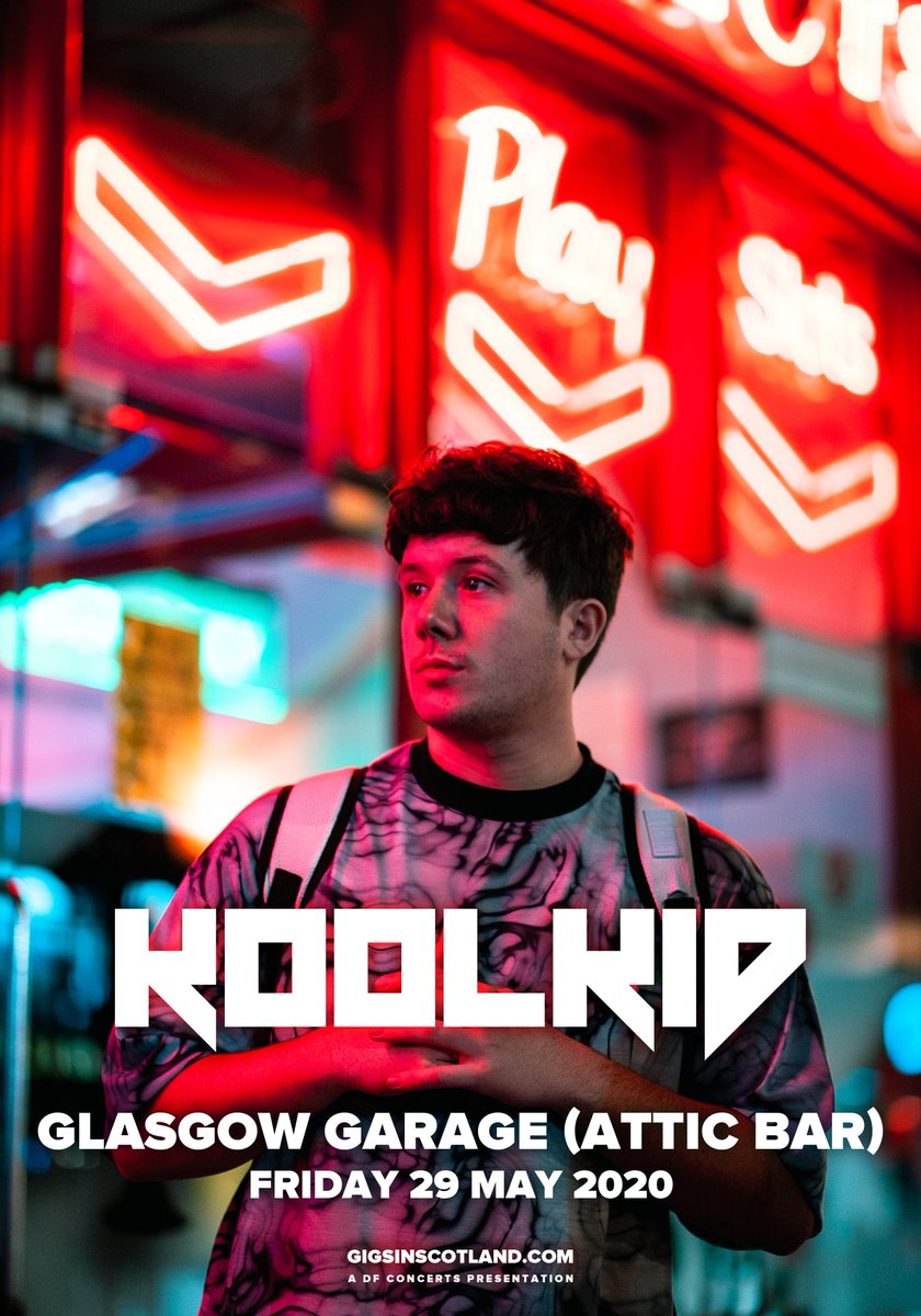 ANNOUNCED & ON SALE » @koolkidsongs will play @Garageglasgow Attic Bar on 29th May! Tickets on sale NOW!  TICKETS ⇾