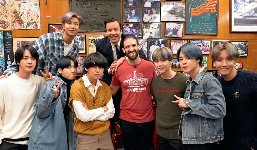 BTS will premiere a new song on 'The Tonight Show' — and go on a tour of NYC
