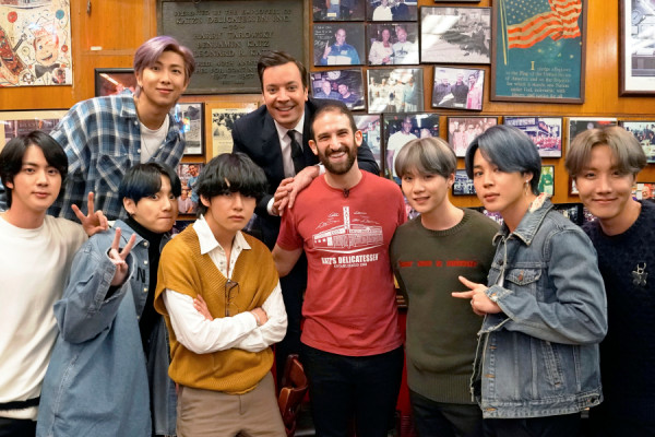 .@BTS_twt will appear on a special episode of The Tonight Show with Jimmy Fallon on February 24th!  It will include an extended interview, a performance of their new song and a tour of New York