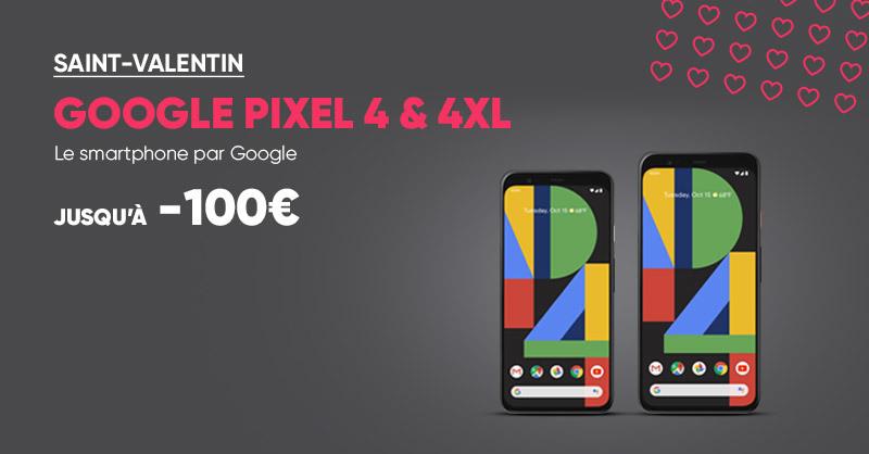 📱 Vous voulez photographier les étoiles en amoureux ? 💕Offrez-vous ou à votre être cher le smartphone Google Pixel 4 ou 4XL à partir de 699€ seulement avec jusqu'à 100€ de réduction 😆 #SaintValentinFnac >