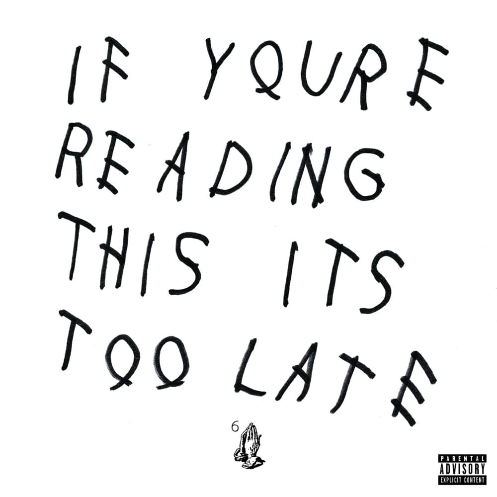 5 years ago, @Drake dropped 'If You're Reading This It's Too Late.'  RANK YOUR TOP 3 TRACKS 🤔