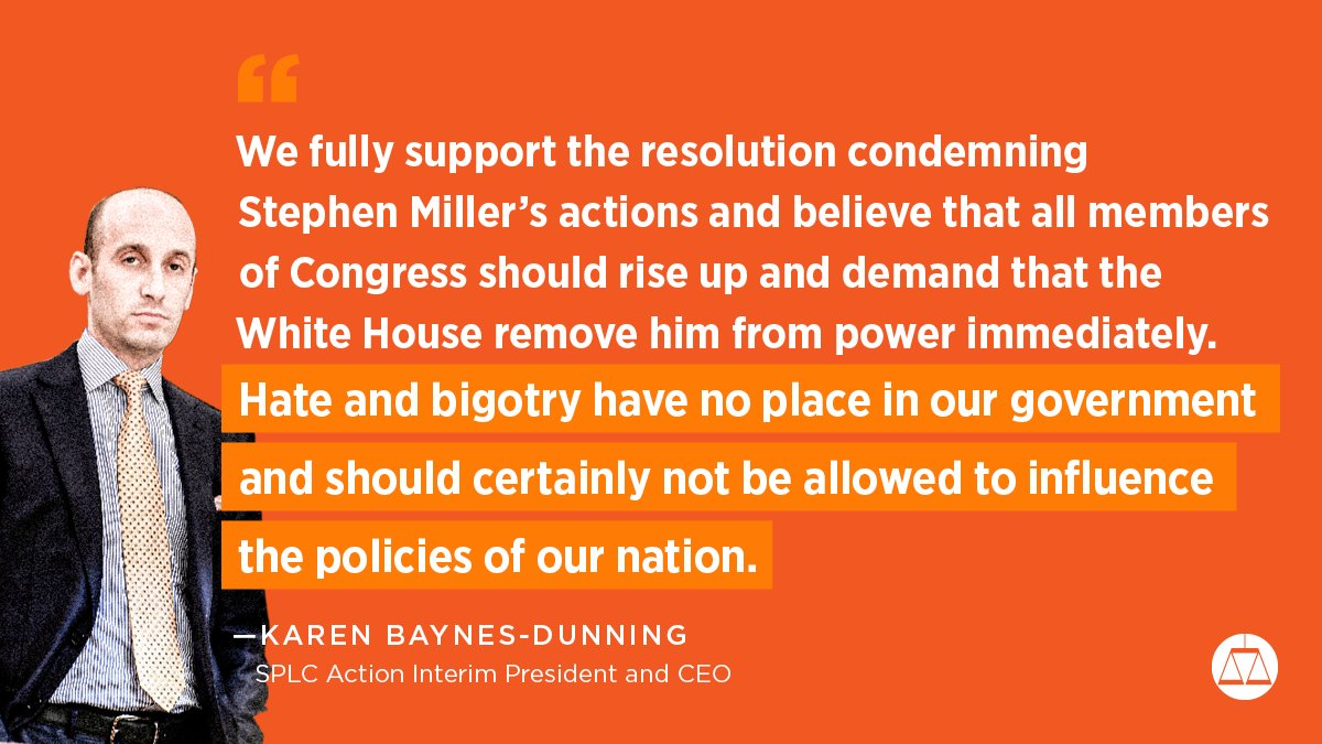 We've reported that #StephenMiller's bigoted views on immigration have informed some of the #Trump administration's most inhumane policies.   Now, @KamalaHarris, @JoaquinCastrotx and other lawmakers are calling for his removal.