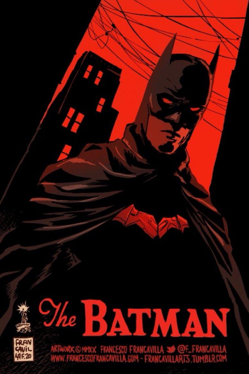 Beautiful #TheBatman 🦇 artwork by @f_francavilla