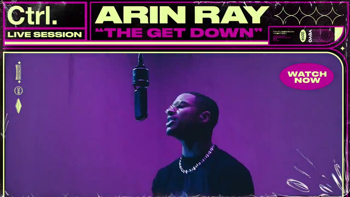 """Cincinnati native @arinraycamp moved to L.A. as a teen to follow his dreams. His hard work has paid off check out his Ctrl performance of """"The Get Down"""" now!🕺 ⠀⠀⠀⠀⠀⠀⠀⠀⠀ ▶️"""