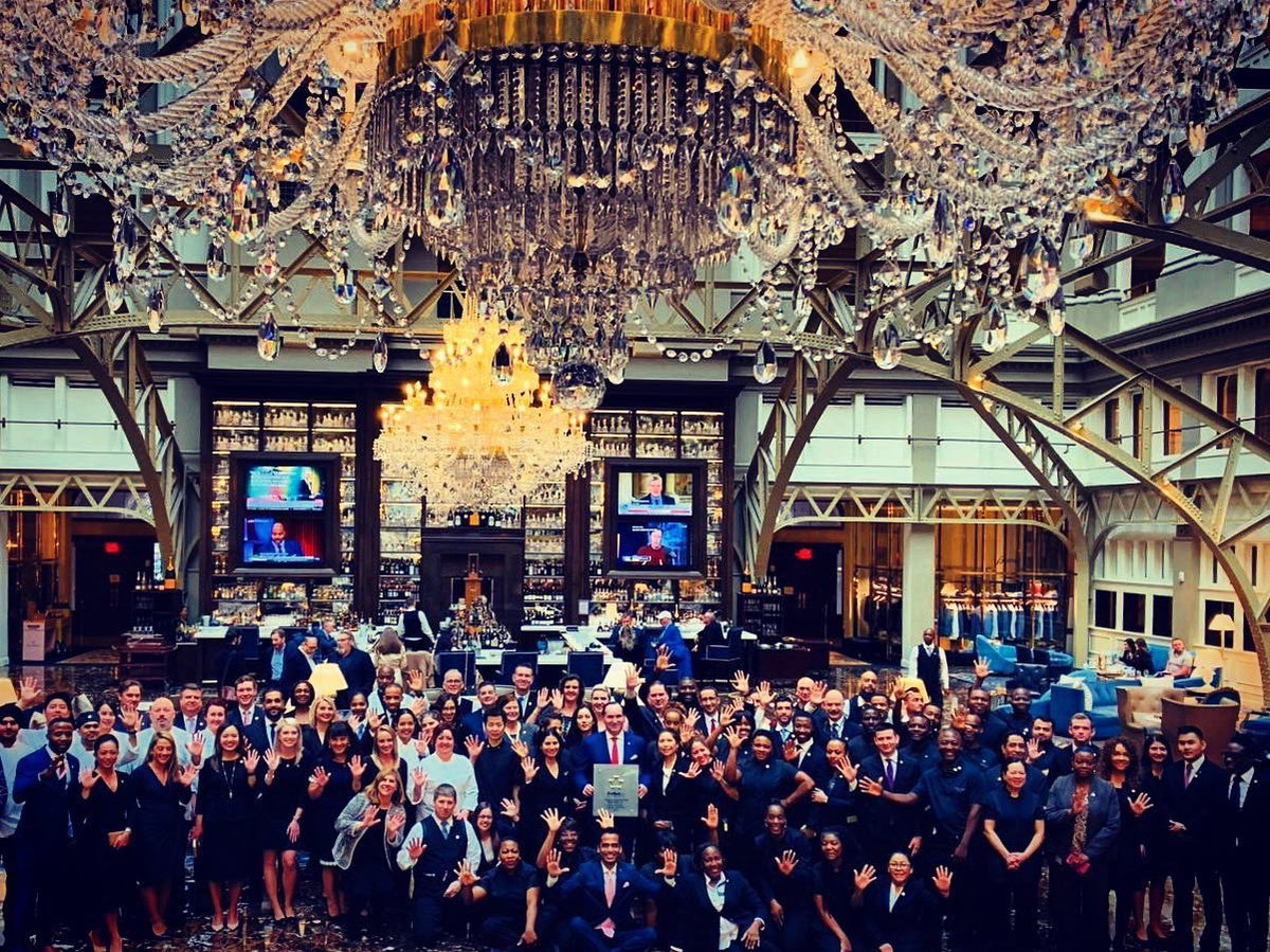 Here is our secret to a @ForbesInspector 5 star rating...Hire the best in the business and work harder than anyone else...Congratulations to all our @TrumpDC associates on a job well done!!! So proud of all of your accomplishments...#training #success #onlyfivestarhoteldowntowndc