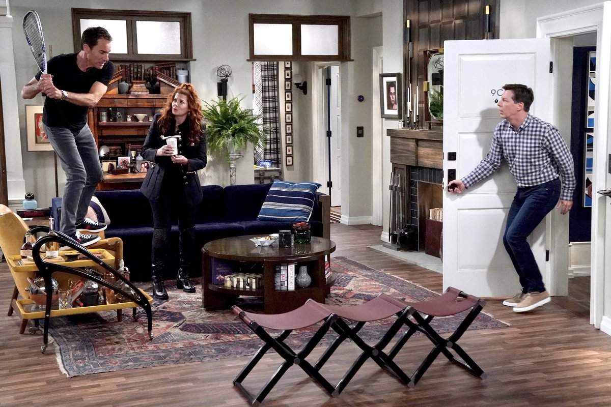 """Here are a few snapshots from tonight's NEW episode of """"Will & Grace"""". #WillAndGrace"""