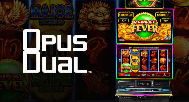 Konami's latest big-screen slot is a standout from the start! 🏆    #slots #jackpot #OpusDual