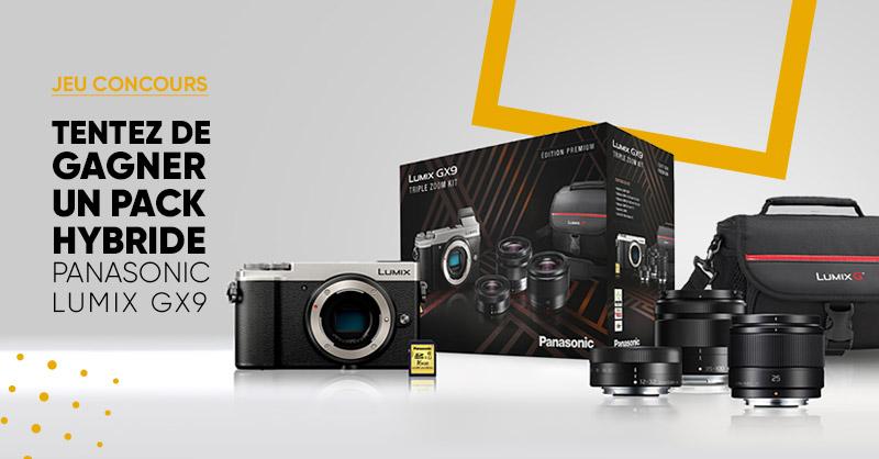 JEU CONCOURS 🎁| Fans de photos 📸 On a un cadeau pour vous de la part de @PanasonicFrance. 😀  Tentez de gagner 1 magnifique Pack Hybride Panasonic Lumix GX9 et ses accessoires. 🙌 ➡ Pour participer : RT + Follow @Fnac > Bonne chance à tous ! 😎 >>