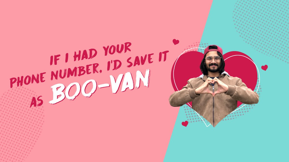 What's in a name? Possibly, your next pick-up line! ❤ #ValentinesDay2020