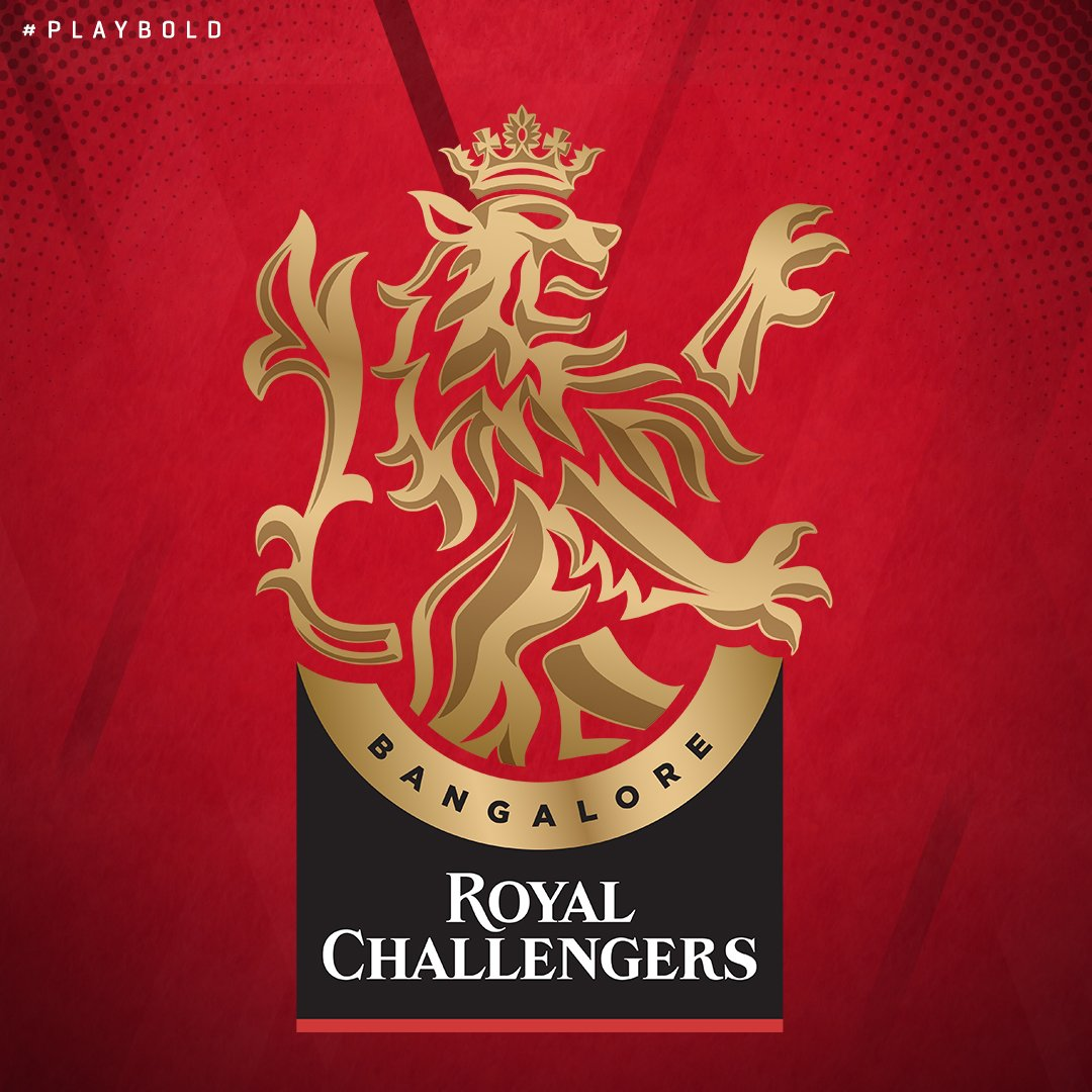Embodying the bold pride and the challenger spirit, we have unleashed the rampant lion returning him to the Royal lineage.  New Decade, New RCB, and this is our new logo #PlayBold #NewDecadeNewRCB