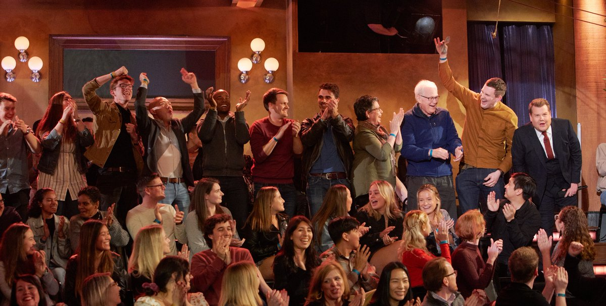 It pays to be a #LateLateShow audience member.