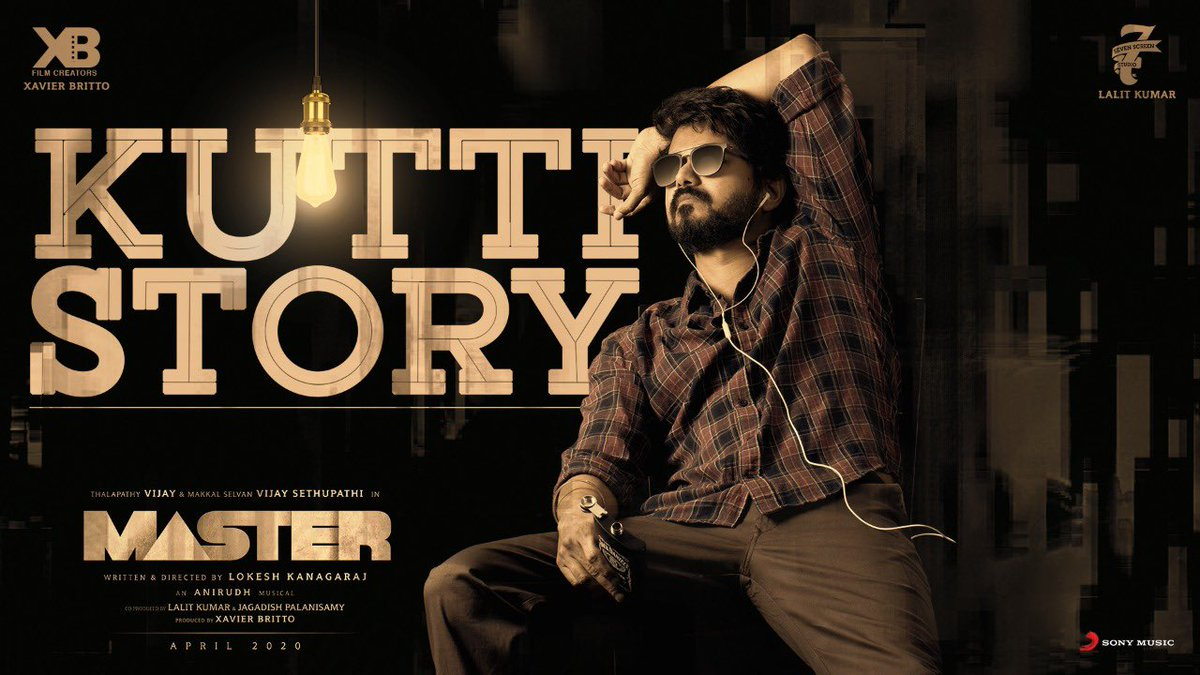 How's our #KuttiStory ?   An @anirudhofficial musical
