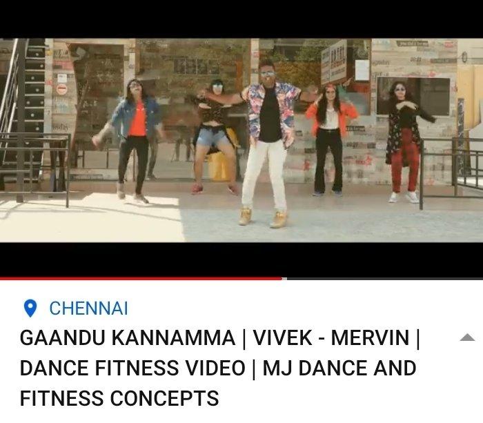 Extremely groove worthy dance fitness cover of the addictive #GaanduKannamma by #MJStudios!🎶🕺🏽💃🏼   Watch now➡  @iamviveksiva @MervinJSolomon @amithkrishnan85 @KuKarthk @PawanAlex @JafferJiky @balaji_u