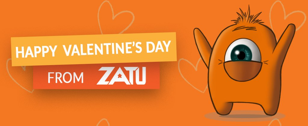 🧡 HAPPY VALENTINE'S DAY 🧡 from all of us here at Zatu! We hope that whatever you have planned with your significant other that it involves pizza and of course board games! #zatugames #ValentinesDay2020 https://t.co/76uLQPeXG0