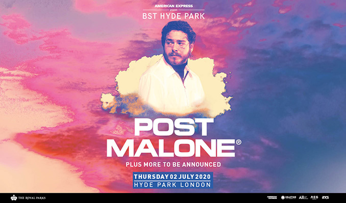 🌻 It's time! 🌻 Tickets are on sale now to see @PostMalone to headline at @AmexUK presents @BSTHydePark on Thu 2 July.   Quick, this way ➡️➡️  #BSTHydePark #PostMalone