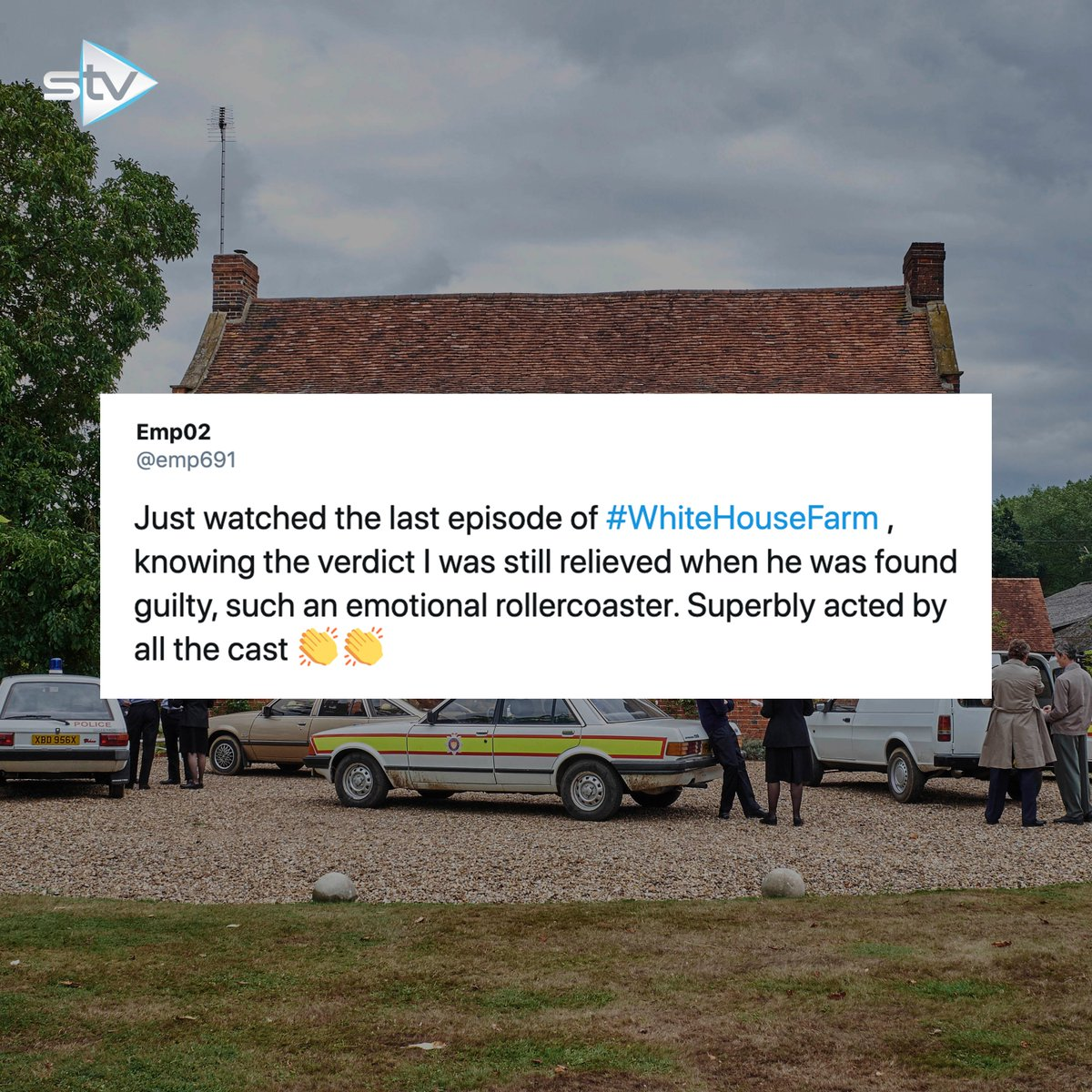 👮 Have you watched #WhiteHouseFarm yet?  Full Box Set now available on the STV Player.
