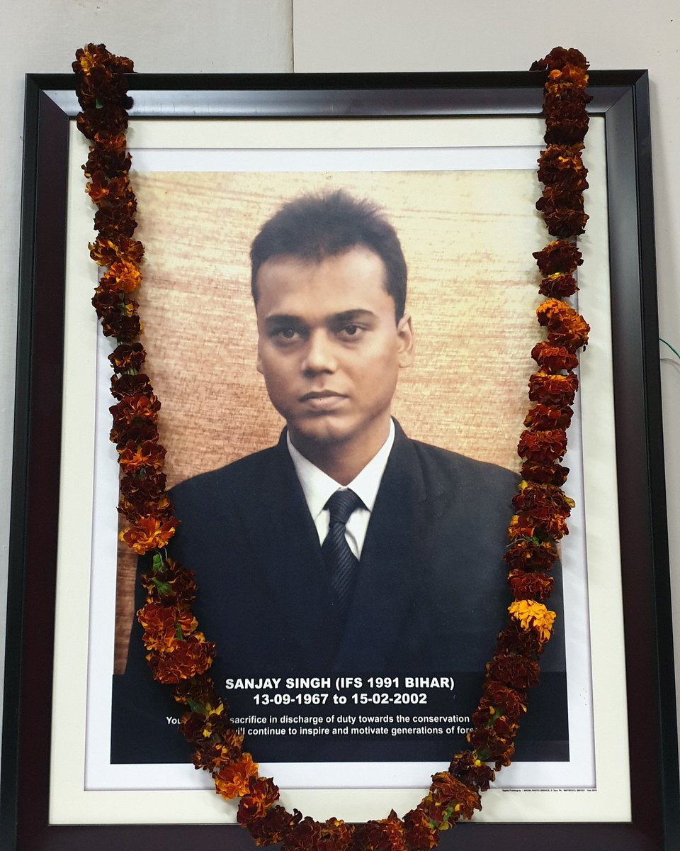 Sanjay Kumar Singh IFS,  was murdered in Feb 2002 by the mining mafias in Sasaram,Bihar .He is an alumnus of IIT Delhi and JNU Delhi. He did various exemplary works and gathered public good will. Read my insta link to know more about him.