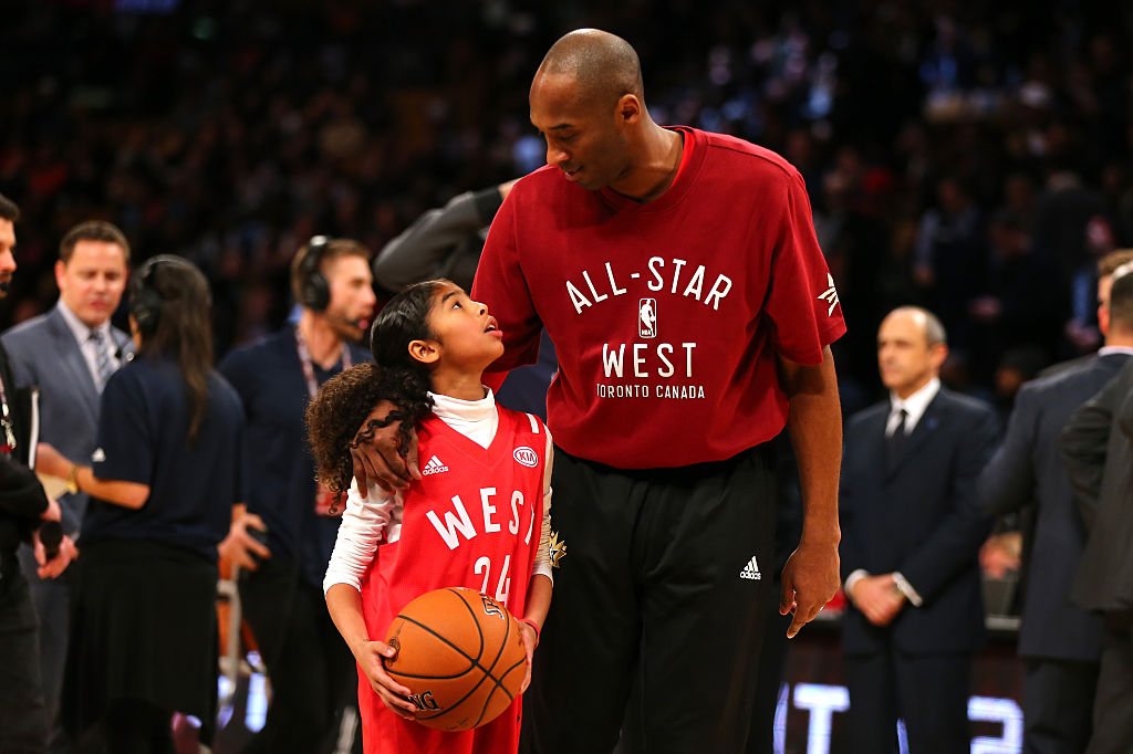 Feb. 14, 2016  NBA All-Star Game in Toronto.  Kobe Bryant's 18th and final All-Star Game.  ❤️
