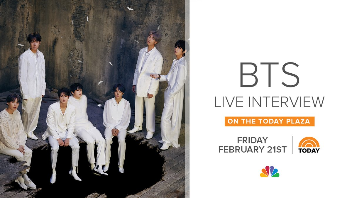 """Launching of """"Map of the Soul: 7"""" - our live interview with @BTS_twt!"""