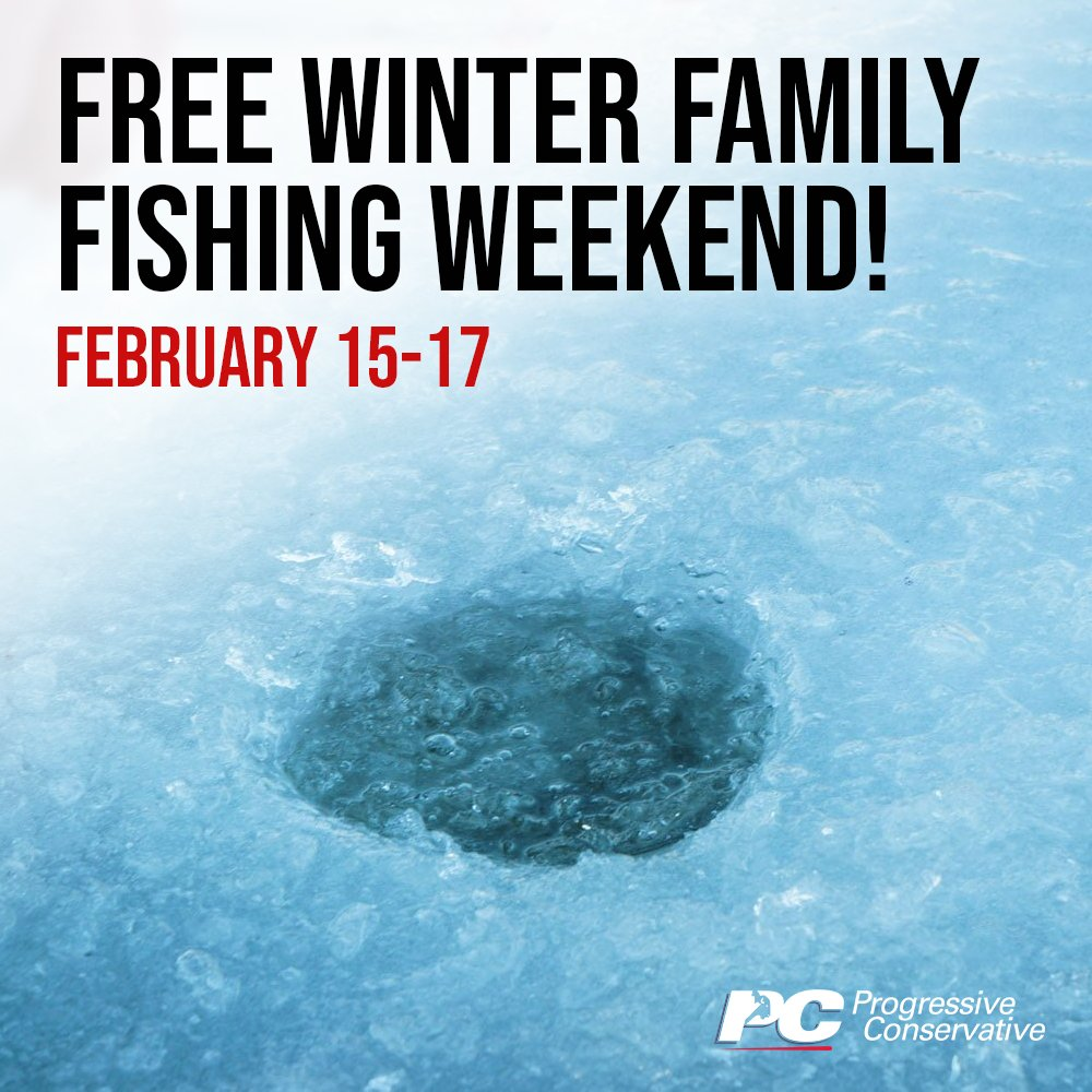 test Twitter Media - THIS WEEKEND: Anglers won't need an angling licence to try their luck during this year's Winter Family Fishing Weekend!   Learn more here: https://t.co/SZyBXOUKI6   #mbpoli #MovingManitobaForward https://t.co/qvpU4M5kb4