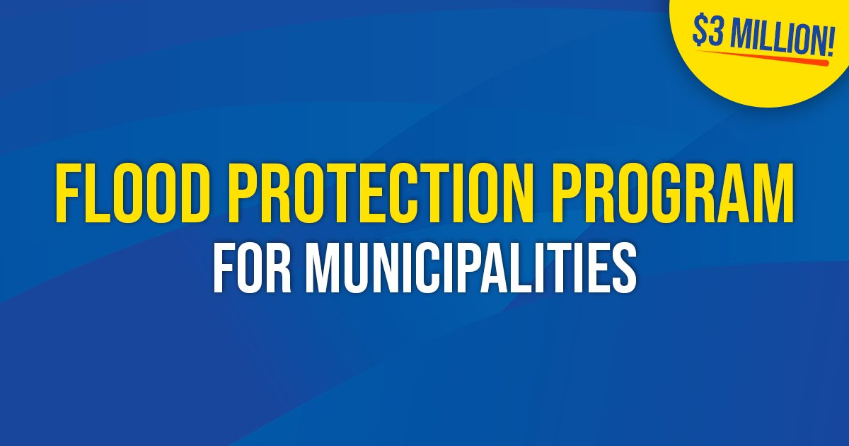 test Twitter Media - Under this program, municipalities can be reimbursed for up to 100% of approved flood preparedness or resiliency projects and equipment costs!   More details here: https://t.co/RToEUsmZLU  #mbpoli #MovingManitobaForward https://t.co/q5UFVPSgQ2