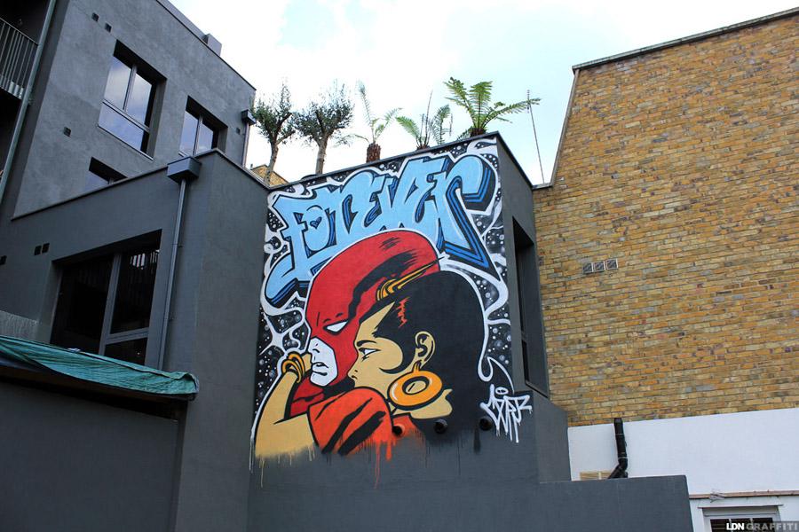 FOREVER #Friends … #PermitHoldersOnly! … CEPT #StreetArt in #London https://t.co/TeZESFpaZW