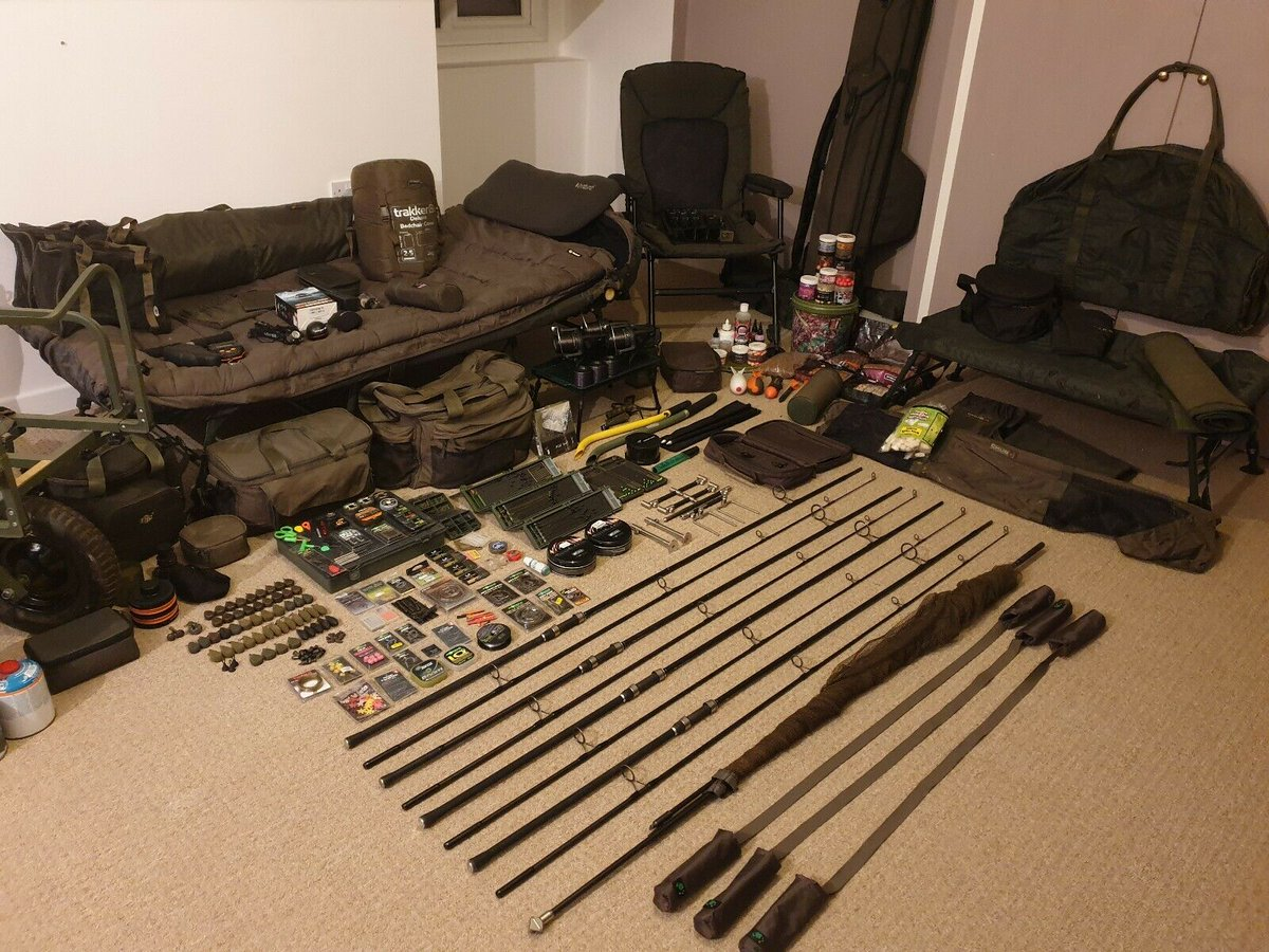 Ad - Full carp fishing <b>Set</b> up for sale On eBay here -->> https://t.co/7bYkSszHDi  #carp