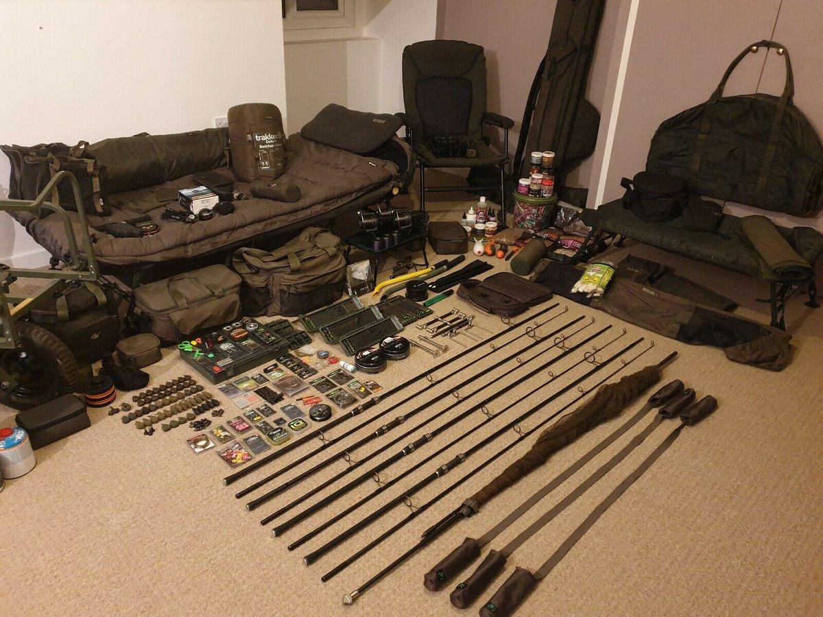 Ad - Full carp fishing set up for sale On eBay here -->> https://t.co/7bYkSszHDi  #carpfishing