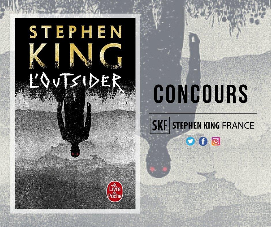 #Concours 🎁📕  RT+Follow pour gagner #LOutsider de @StephenKing en poche, publié aux éditions @LivredepocheSFF @livredepoche le 19 février !  😍  Bonne chance ! 🤞🍀  D'autres exemplaires à gagner sur Instagram et Facebook 👉  #TheOutsider @OCSTV