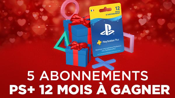 Pour fêter la Saint-Valentin, on vous propose de gagner 5 abonnements PlayStation Plus 12 mois !   Pour tenter votre chance, RT & follow @Micromania_Fr, on tire au sort mardi ;-)