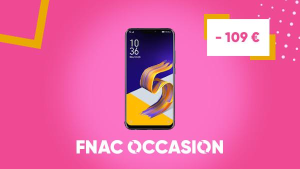 #FnacOccasion 📱 : Besoin d'un smartphone ? L'Asus ZenFone 5 Double SIM 64 Go Noir est au prix de 289,90€ au lieu de 398,90€ 🤩