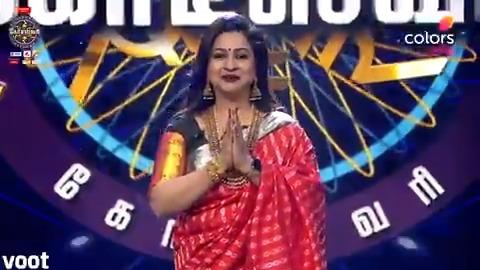 கோடீஸ்வரி என் வாழ்வில் மறக்க முடியாத பயணம் - ராதிகா சரத்குமார் 😊👌  #ColorsKodeeswari | @realradikaa | @SPNStudioNEXT