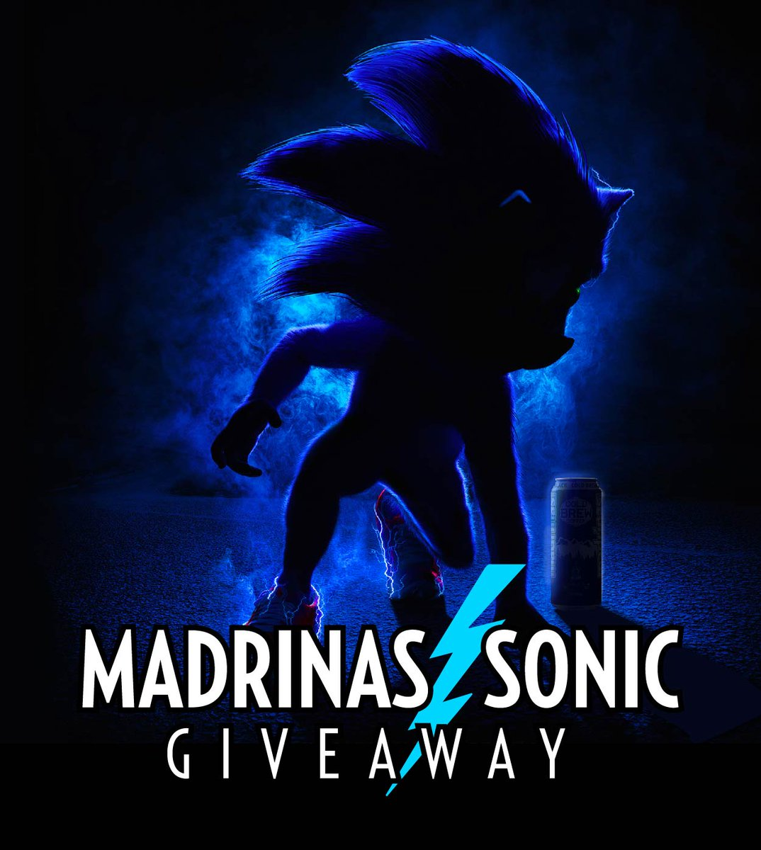 ⚡SONIC GIVEAWAY⚡  Enter for a chance to win an epic Sonic Bundle! #SonicMovie   1⃣ Follow @Madrinas 2⃣ RT this post 3⃣ BONUS ENTRY⚡️ Reply with your fav Sonic meme!