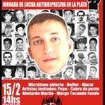 RT @Indyddhh: Jornada Antirrepresiva en La Plata a 7 años del asesinato de Omar Cigarán https://t.co/LBEaFJdQgm https://t.co/FpZlmTOWKD