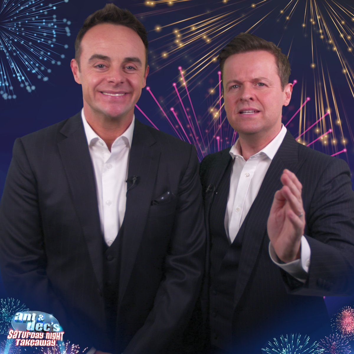 🚨 We're interrupting your Saturday to remind you that we're back in just ONE WEEK! @antanddec  @ITV | 7pm | #SaturdayNightTakeaway