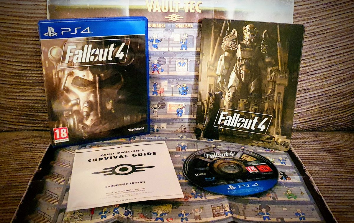 My pick for #PS4Day is  Fallout 4  I hated this game when I first played it. I'd burnt myself out playing MGS5 and picked this up from Tesco at midnight with huge expectations.  When I played it about a year later (after picking it up for a fraction of the price) I loved it!