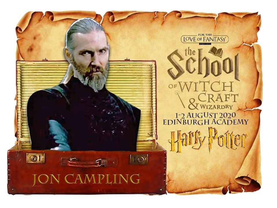 GUEST ANNOUNCEMENT - JON CAMPLING  FOR THE LOVE OF FANTASY AUGUST 1-2  Jon Campling is a British actor who portrayed the Death Eater who, looks for Harry Potter inside the Hogwarts Express in Harry Potter and the Deathly Hallows: Part 1, he is also known for #finalfantasy