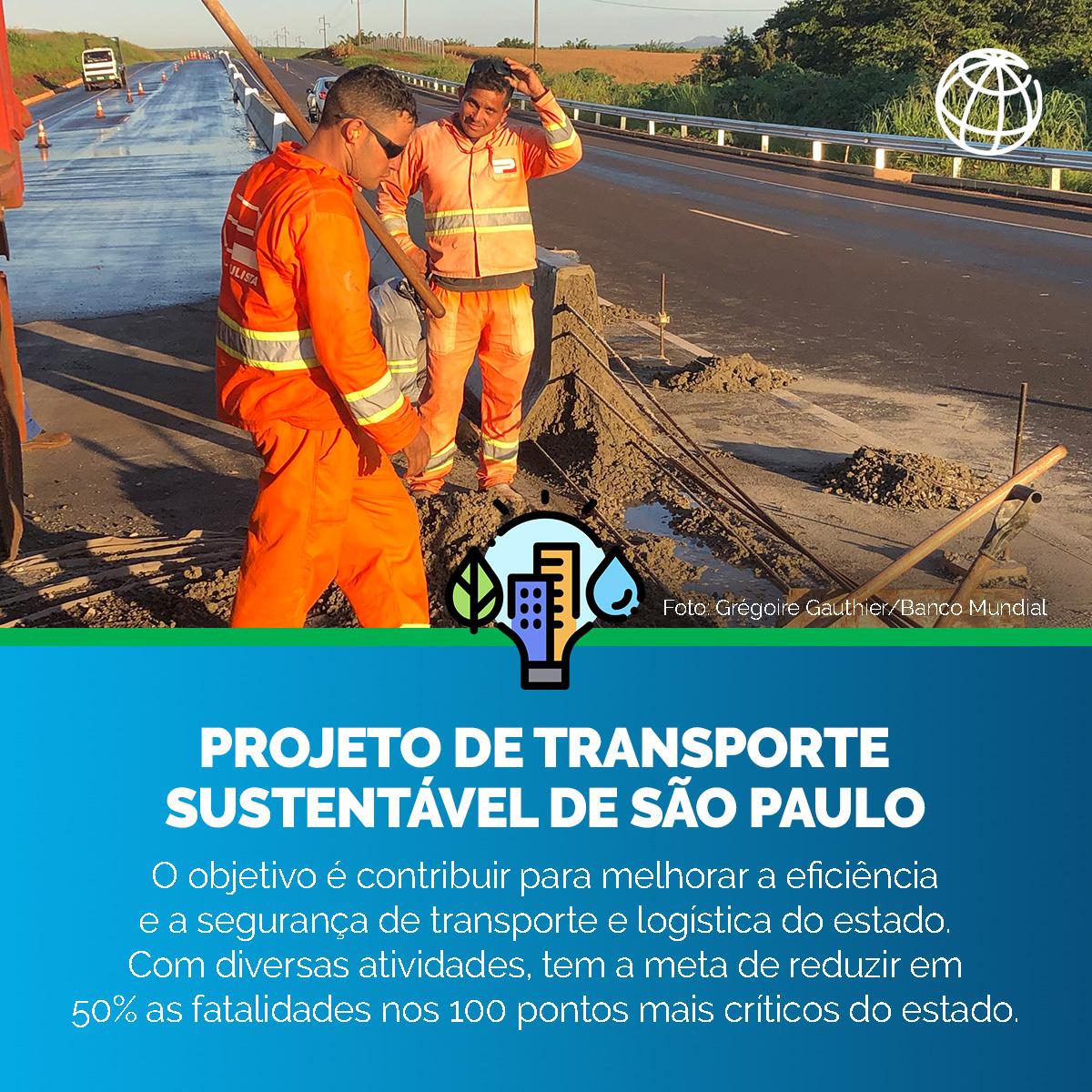 Este projeto do Banco Mundial beneficia cerca de 3,5 milhões de pessoas no estado de São Paulo. Quer saber mais sobre nossa atuação no Brasil? Acesse: